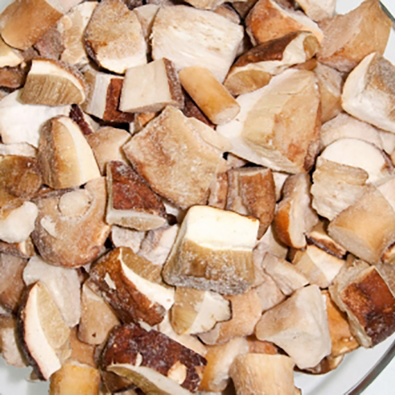 гриб белый замороженный резанный кубик