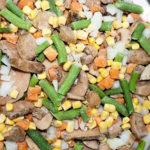 смесь овощная лобио с грибами
