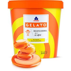 мороженое gelato мягкая карамель
