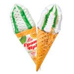 мороженое рожок гран при киви маракуйя