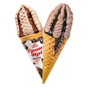мороженое рожок гран при шоколад