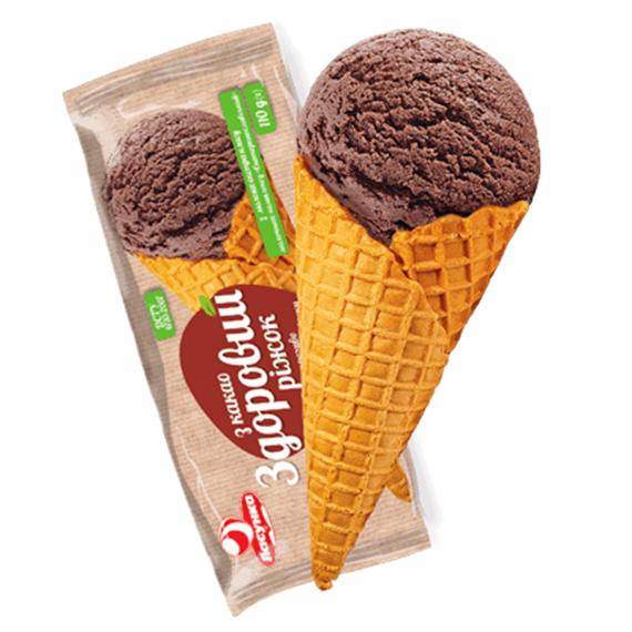 мороженое рожок шоколад какао