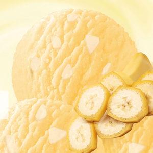 мягкое мороженое банановое