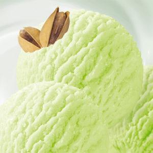 мягкое мороженое фисташка