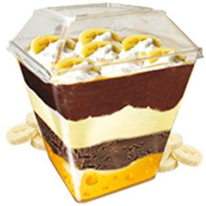 мороженое десерт parfelatte банан нути