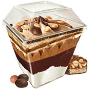 мороженое десерт parfelatte кофе раф