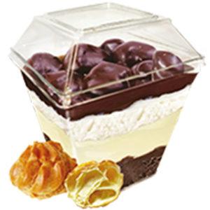 мороженое десерт parfelatte профитроль