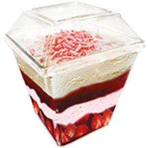 мороженое десерт parfelatte клубничный десерт