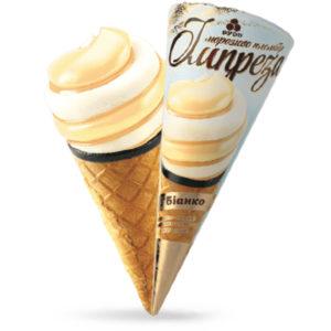 мороженое рожок импреза бианко