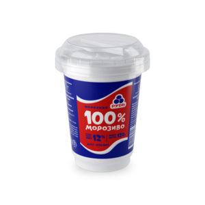 мороженое 100% в стакане