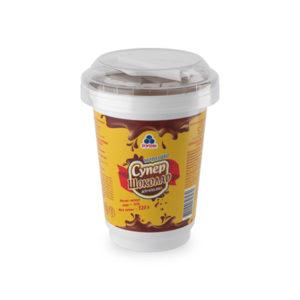 мороженое супершоколад в стакане