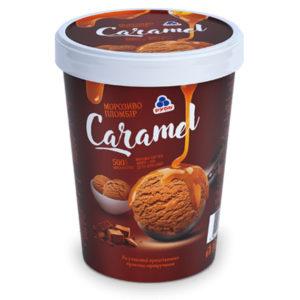 мороженое в ведре карамель