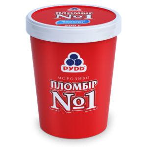 мороженое пломбир номер один