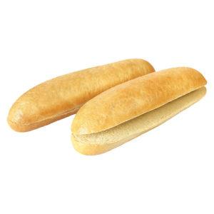 булочка для хот-дога с разрезом