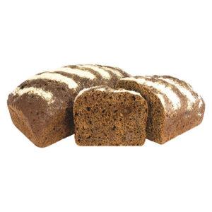 хлеб ржаной с луком и сыром