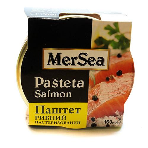 паштет с лососем