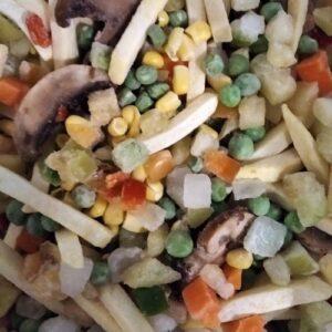 овощная смесь замороженная